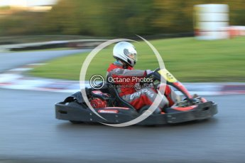 © Octane Photographic Ltd. 2011. Milton Keynes Daytona Karting, Forget-Me-Not Hospice charity racing. Sunday October 30th 2011. Digital Ref : 0194cb7d9570