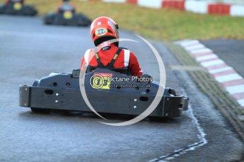 © Octane Photographic Ltd. 2011. Milton Keynes Daytona Karting, Forget-Me-Not Hospice charity racing. Sunday October 30th 2011. Digital Ref : 0194cb7d9623