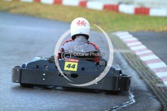 © Octane Photographic Ltd. 2011. Milton Keynes Daytona Karting, Forget-Me-Not Hospice charity racing. Sunday October 30th 2011. Digital Ref : 0194cb7d9637