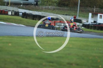 © Octane Photographic Ltd. 2011. Milton Keynes Daytona Karting, Forget-Me-Not Hospice charity racing. Sunday October 30th 2011. Digital Ref : 0194cb7d9662