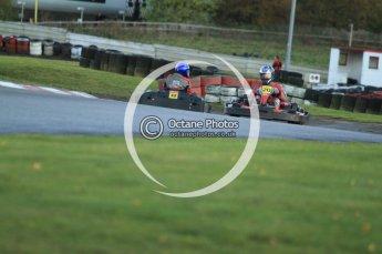 © Octane Photographic Ltd. 2011. Milton Keynes Daytona Karting, Forget-Me-Not Hospice charity racing. Sunday October 30th 2011. Digital Ref : 0194cb7d9662