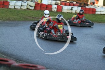 © Octane Photographic Ltd. 2011. Milton Keynes Daytona Karting, Forget-Me-Not Hospice charity racing. Sunday October 30th 2011. Digital Ref : 0194cb7d9671