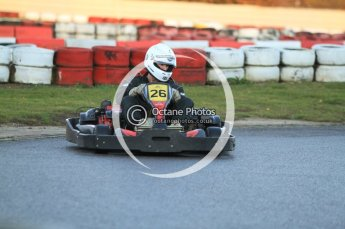 © Octane Photographic Ltd. 2011. Milton Keynes Daytona Karting, Forget-Me-Not Hospice charity racing. Sunday October 30th 2011. Digital Ref : 0194cb7d9724