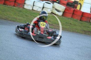 © Octane Photographic Ltd. 2011. Milton Keynes Daytona Karting, Forget-Me-Not Hospice charity racing. Sunday October 30th 2011. Digital Ref : 0194cb7d9780
