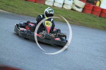 © Octane Photographic Ltd. 2011. Milton Keynes Daytona Karting, Forget-Me-Not Hospice charity racing. Sunday October 30th 2011. Digital Ref : 0194cb7d9795