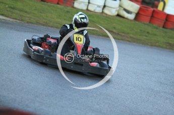 © Octane Photographic Ltd. 2011. Milton Keynes Daytona Karting, Forget-Me-Not Hospice charity racing. Sunday October 30th 2011. Digital Ref : 0194cb7d9795