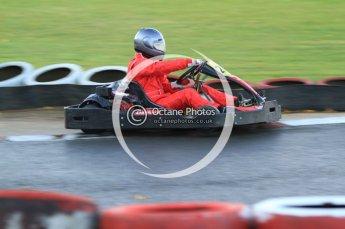 © Octane Photographic Ltd. 2011. Milton Keynes Daytona Karting, Forget-Me-Not Hospice charity racing. Sunday October 30th 2011. Digital Ref : 0194cb7d9830