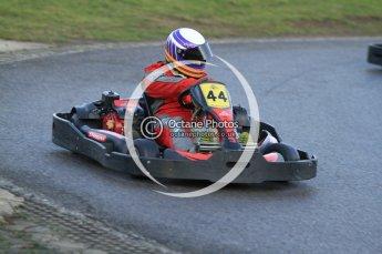 © Octane Photographic Ltd. 2011. Milton Keynes Daytona Karting, Forget-Me-Not Hospice charity racing. Sunday October 30th 2011. Digital Ref : 0194cb7d9981