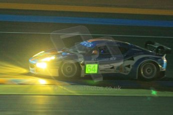 © Octane Photographic 2011. Le Mans night qualifying 9th June 2011. La Sarthe, France. Digital Ref : 0077CB1D0850