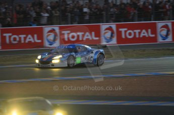 © Octane Photographic 2011. Le Mans night qualifying 9th June 2011. La Sarthe, France. Digital Ref : 0077CB7D0519