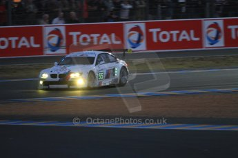 © Octane Photographic 2011. Le Mans night qualifying 9th June 2011. La Sarthe, France. Digital Ref : 0077CB7D0554