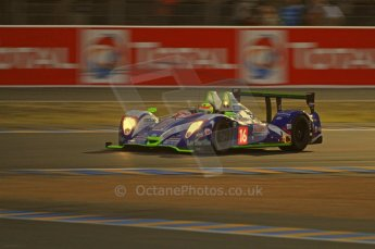 © Octane Photographic 2011. Le Mans night qualifying 9th June 2011. La Sarthe, France. Digital Ref : 0077CB7D0650