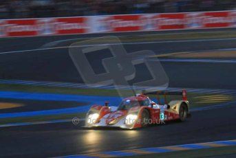 © Octane Photographic 2011. Le Mans night qualifying 9th June 2011. La Sarthe, France. Digital Ref : 0077LW7D4694