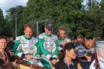 © Octane Photographic 2011. Le Mans Drivers' parade, 10th June 2011. Digital Ref : 0078LW7D5302