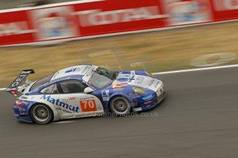 © Octane Photographic 2011. Le Mans finish line and podium - Sunday 11th June 2011. La Sarthe, France. Digital Ref : 0263cb1d3447