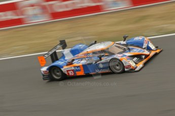 © Octane Photographic 2011. Le Mans finish line and podium - Sunday 11th June 2011. La Sarthe, France. Digital Ref : 0263cb1d3571