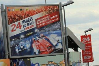 © Octane Photographic 2011. Le Mans Race - Saturday 10th June 2011. La Sarthe, France. Digital Ref : 0112cb7d6213