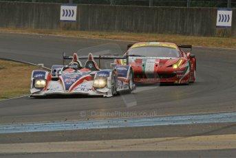 © Octane Photographic 2011. Le Mans Race - Saturday 10th June 2011. La Sarthe, France. Digital Ref : 0112cb7d7184