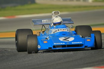© Octane Photographic Ltd. 2011 Masters Racing Espiritu de Montjuic, April 8th 2011. Grand Prix masters, Historic Formula 1 racing. Digital Ref : 0042CB1D0209