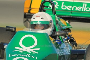 © Octane Photographic Ltd. 2011 Masters Racing Espiritu de Montjuic, April 8th 2011. Grand Prix masters, Historic Formula 1 racing. Digital Ref : 0042CB1D0217