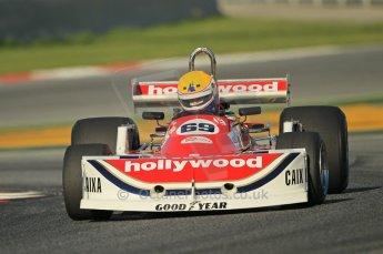 © Octane Photographic Ltd. 2011 Masters Racing Espiritu de Montjuic, April 8th 2011. Grand Prix masters, Historic Formula 1 racing. Digital Ref : 0042CB1D0241