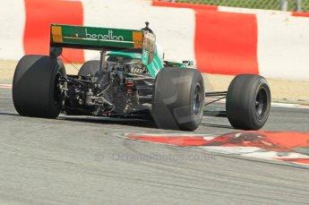 © Octane Photographic Ltd. 2011 Masters Racing Espiritu de Montjuic, April 10th 2011. Grand Prix masters, Historic Formula 1 racing. Digital Ref : 0042CB1D1302
