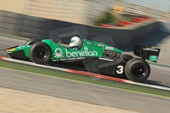© Octane Photographic Ltd. 2011 Masters Racing Espiritu de Montjuic, April 8th 2011. Grand Prix masters, Historic Formula 1 racing. Digital Ref : 0042CB1D0118