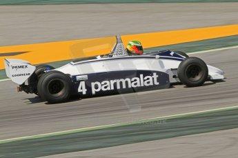 © Octane Photographic Ltd. 2011 Masters Racing Espiritu de Montjuic, April 10th 2011. Grand Prix masters, Historic Formula 1 racing. Digital Ref : 0042CB7D1038