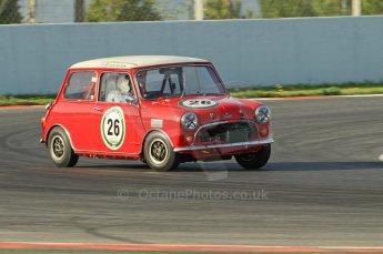 © Octane Photographic Ltd. 2011 Masters Racing Espiritu de Montjuic, April 10th 2011. Pre-1966 Touring Cars. Digital Ref : 0041CB1D0890