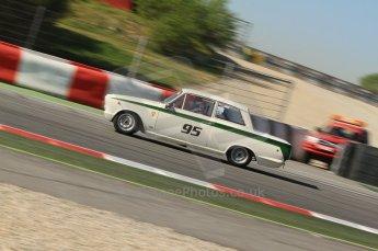 © Octane Photographic Ltd. 2011 Masters Racing Espiritu de Montjuic, April 8th 2011. Pre-1966 Touring Cars. Digital Ref : 0041CB7D0181