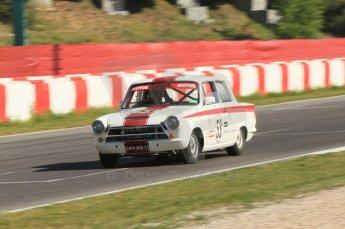 © Octane Photographic Ltd. 2011 Masters Racing Espiritu de Montjuic, April 8th 2011. Pre-1966 Touring Cars. Digital Ref : 0041CB7D0319