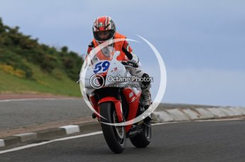 © Octane Photographic Ltd 2011. NW200 Thursday 19th May 2011. Simona Zaccardi, Honda. Digital Ref : LW7D2093