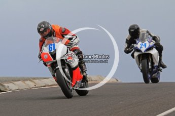© Octane Photographic Ltd 2011. NW200 Thursday 19th May 2011. Dario Cecconi; John Hildreth, Suzuki. Honda. Digital Ref : LW7D2345