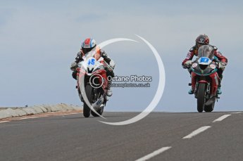 © Octane Photographic Ltd 2011. NW200 Thursday 19th May 2011. Luis Carreira Yamaha - CD Racing; Conor Cummins, Kawasaki - McAdoo Kawasaki Racing. Digital Ref :