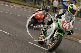© Octane Photographic 2011. NW200, 17th May 2011 Superbike practice. Michael Sweeny, Honda - Greenclean Racing. Digital ref : LW7D9602