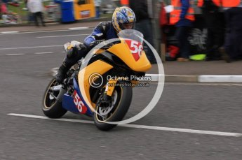 © Octane Photographic 2011. NW200, 17th May 2011 Superbike practice. Eric Wilson, Yamaha. Digital ref : LW7D9800