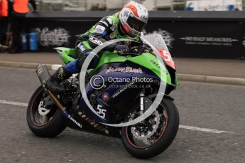 © Octane Photographic 2011. NW200, 17th May 2011 Supersport practice. Dan Kneen, Kawasaki - Marks Bloom Racing. Digital ref : LW7D0550