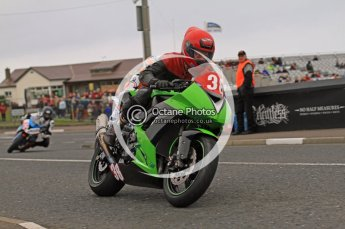 © Octane Photographic 2011. NW200, 17th May 2011 Supersport practice. Digital ref : LW7D0672