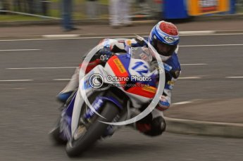 © Octane Photographic 2011. NW200, 17th May 2011 Supersport practice. Gary Johnson, Honda - East Coast Racing. Digital ref : LW7D1281