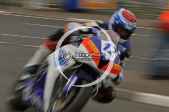 © Octane Photographic 2011. NW200, 17th May 2011 Supersport practice. Gary Johnson, Honda - East Coast Racing. Digital ref :