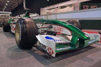 World © Octane Photographic Ltd. Race Retro 25th February 2011. Historic F1 cars. Jaguar R1 - Eddie Irvine. Digital Ref : 0644cb40d5572