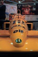 World © Octane Photographic Ltd. Race Retro 25th February 2011. Historic F1 cars. Satoru Nakajima Lotus 101 Judd. Digital Ref : 0644cb40d5589