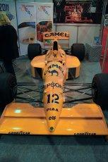 World © Octane Photographic Ltd. Race Retro 25th February 2011. Historic F1 cars. Satoru Nakajima Lotus 101 Judd. Digital Ref : 0644cb40d5592