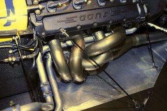World © Octane Photographic Ltd. Race Retro 25th February 2011. Historic F1 cars. Satoru Nakajima Lotus 101 Judd. Digital Ref : 0644cb40d5773