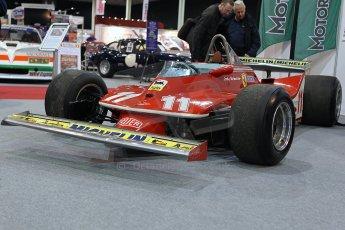 World © Octane Photographic Ltd. Race Retro 25th February 2011. Historic F1 cars. Jody Scheckter Ferrari 314T4. Digital Ref : 0644cb7d1721