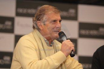 World © Octane Photographic Ltd. Race Retro 25th February 2011. Giacomo Agostini. Digital Ref : 0644cb7d2849