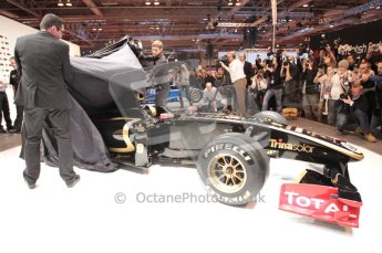Autosport International 2011. Renault 2011 livery launch. Digital ref : 0046CB1D5942