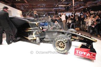 Autosport International 2011. Renault 2011 livery launch. Digital ref : 0046CB1D5949