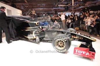 Autosport International 2011. Renault 2011 livery launch. Digital ref : 0046CB1D5951