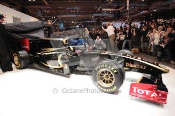 Autosport International 2011. Renault 2011 livery launch. Digital ref : 0046CB1D5957